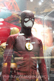 The Flash costume display