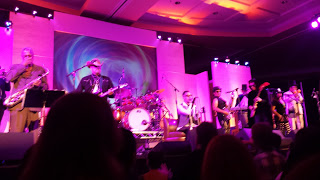 Oingo Boingo Dance Party performed at a party which required a separate ticket purchase from the convention