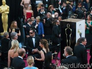 Joaquin Phoenix zooming past
