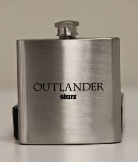 Outlander Flask given to each attendee after the panel