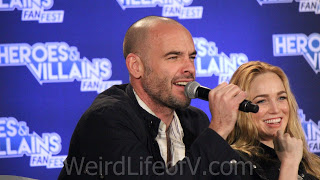 Paul Blackthorne and Caity Lotz - Heroes and Villains Fan Fest San Jose 2015