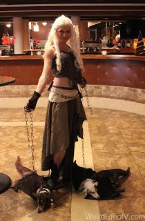Daenerys Targaryen cosplay at Classic Comic Con 2016