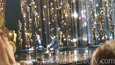 Oscar Host Neil Patrick Harris with Kelly and Michael