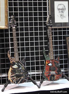 Spiderman guitars