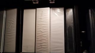 row of 3-ring binders
