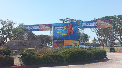 Entrance to the ConX area outside San Diego Comic-Con 2016