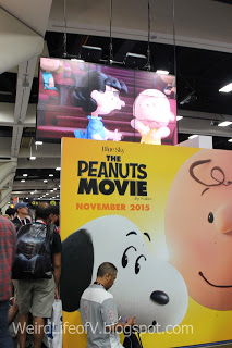 The Peanuts Movie booth
