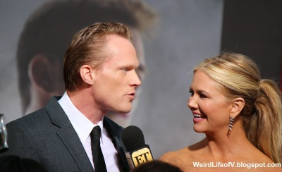 Paul Bettany being interviewed by Nancy O\'Dell