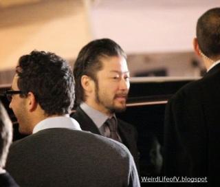 Tadanobu Asano at the Thor: The Dark World premiere