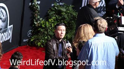 BD Wong being interviewed - Jurassic World Premiere