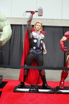 Life size Thor statue