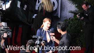 Bryce Dallas Howard interviewed by Mario Lopez - Jurassic World Premiere