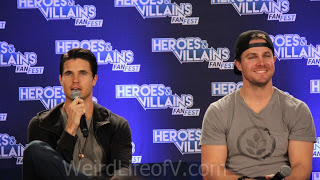 Robbie and Stephen Amell