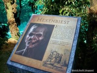 Hexenbeist information in the Grimm maze during San Diego Comic Con 2012