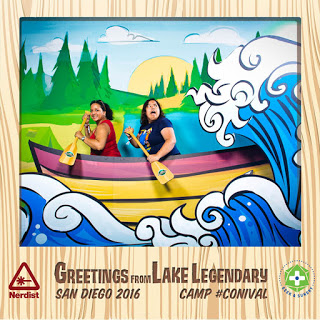 Lake Legendary photo booth with my niece