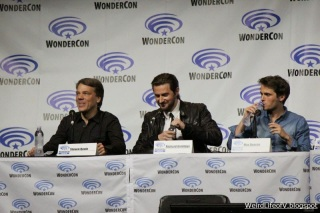 Into the Storm panel