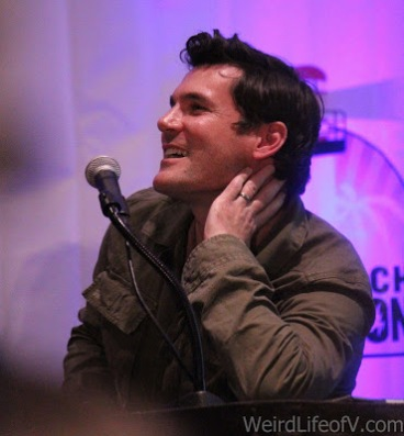 Sean Maher at the Firefly reunion panel at LBCC 2016