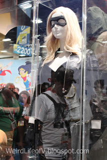 Black Canary Costume display - San Diego Comic Con 2015.
