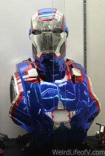 Iron Man patriot torso and helmet