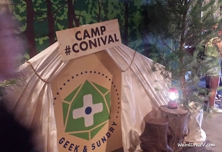 Geek and Sundry\'s tent