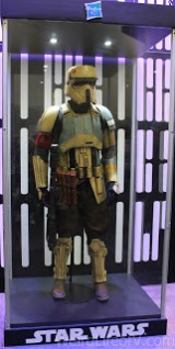 Shoretrooper in a case at the Hasbro booth on the exhibition floor at SDCC 2016
