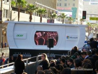 Leonard Nimoy on the screen