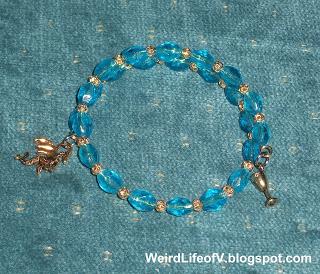 DIY: Daenerys Targaryen inspired beaded memory wire bracelet