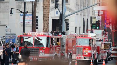 LAFD Fire Trucks for the San Andreas premiere