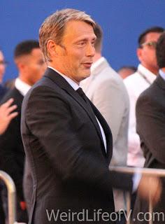 Mads Mikkelson arrives at the Doctor Strange premiere in Hollywood