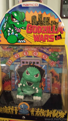 Godzilla Wars, Jr. game was in the gallery to play