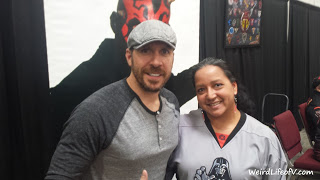 Ray Park and me