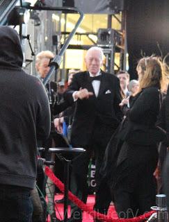 Max von Sydow - Star Wars: The Force Awakens premiere